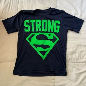 Superman athletic knit tee